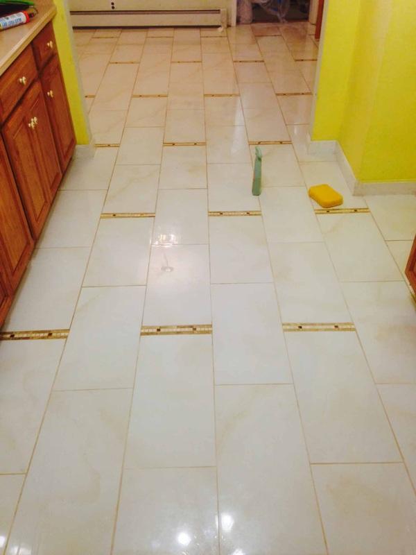 Tile Job 1 Gallery Anthonys Floors Sandrefinish